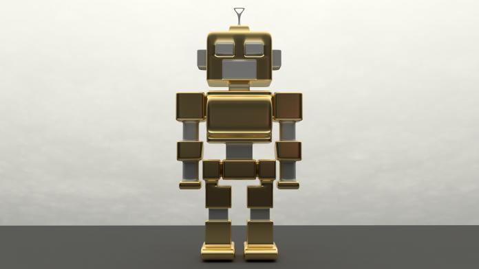 robot clerk